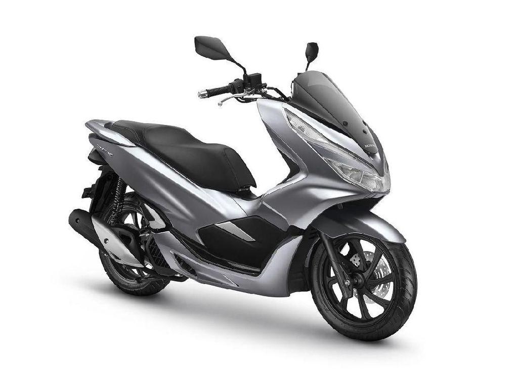 Warna Baru Honda PCX yang Lebih Berkelas