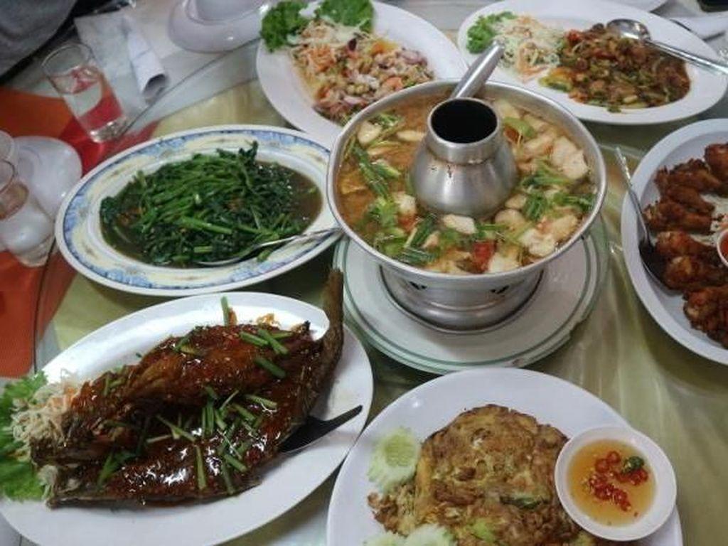 Foto: Ketemu Restoran Thailand Halal di Pattaya