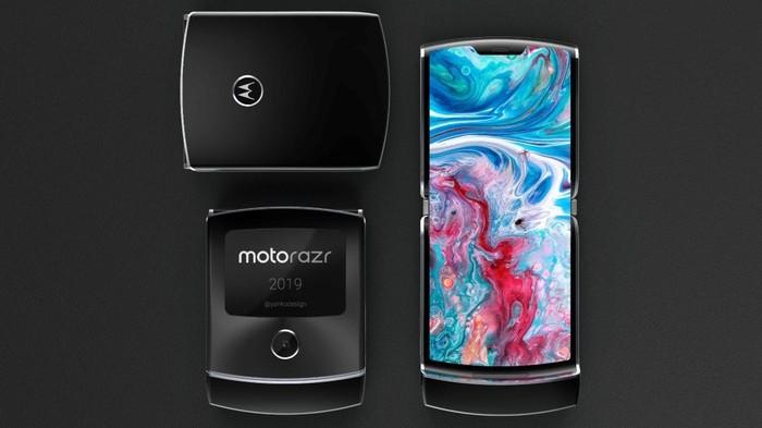Motorola Razr versi jadul. Foto: dok. Sarang Sheth