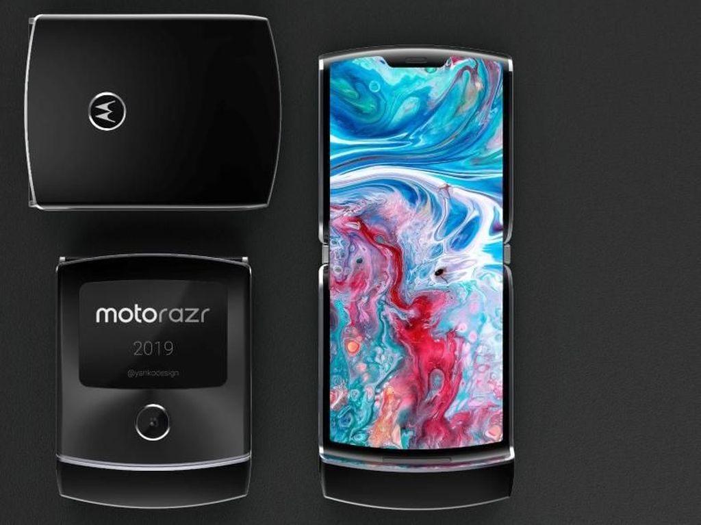 Bocoran Spesifikasi Ponsel Layar Lipat Motorola Razr