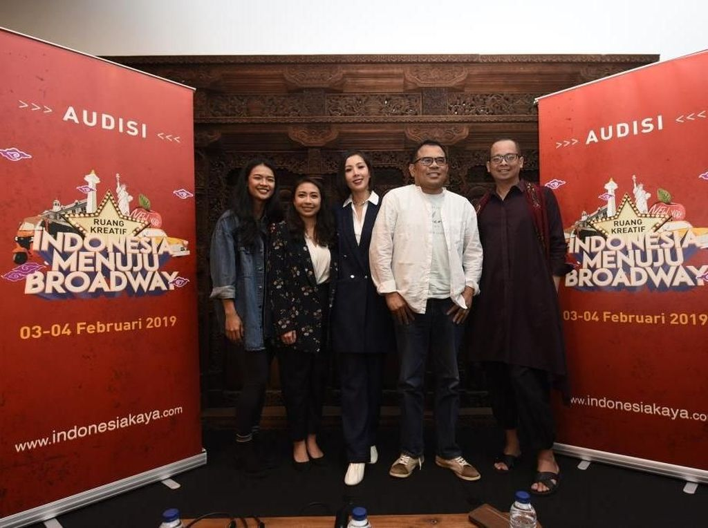 Indonesia Menuju Broadway, Ide Kreatif Cari Seniman Muda di Panggung Musikal