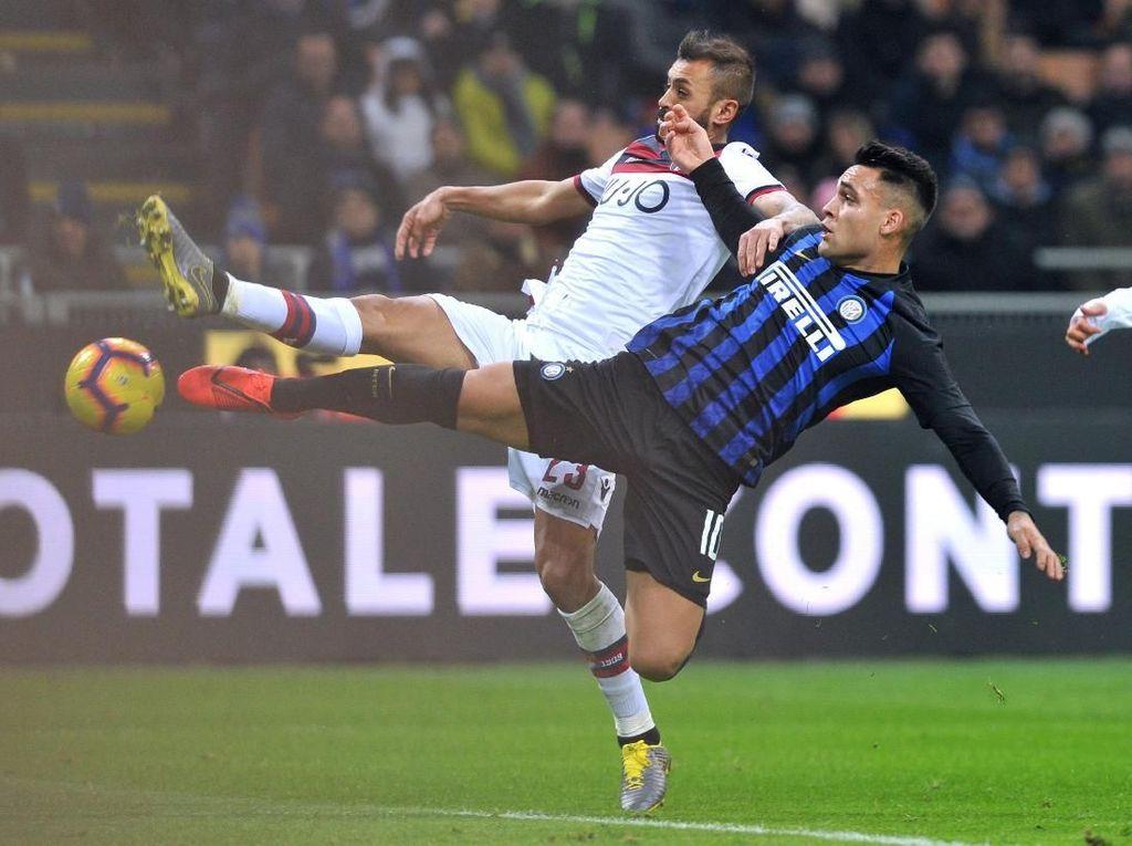 Hasil Liga Italia: Inter Kalah 0-1 dari Bologna