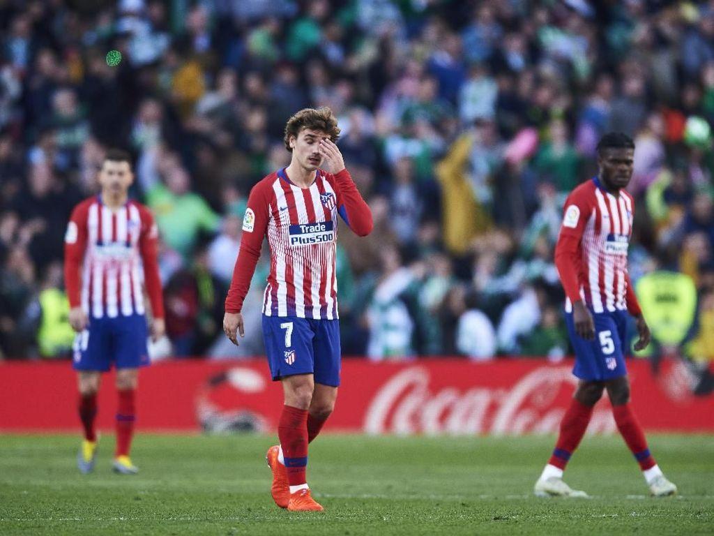 Hasil Liga Spanyol: Takluk di Markas Real Betis, Atletico Gagal Dekati Barcelona