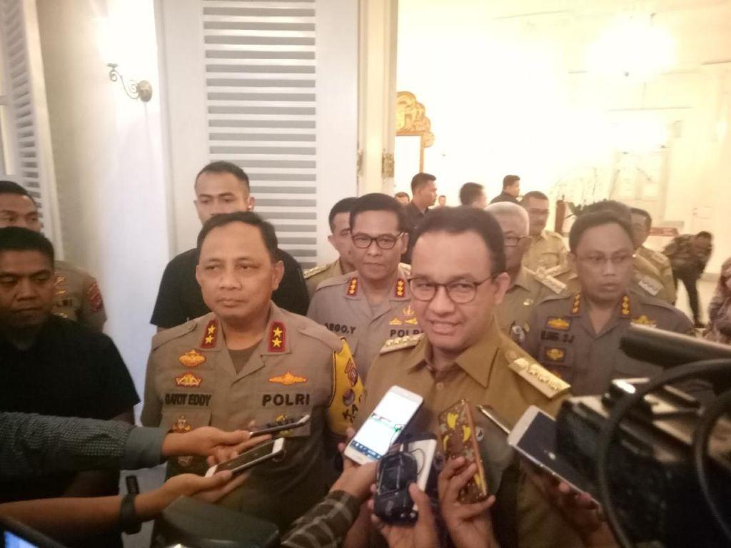 Kapolda Metro Sambangi Anies di Balai Kota, Bahas Keamanan DKI