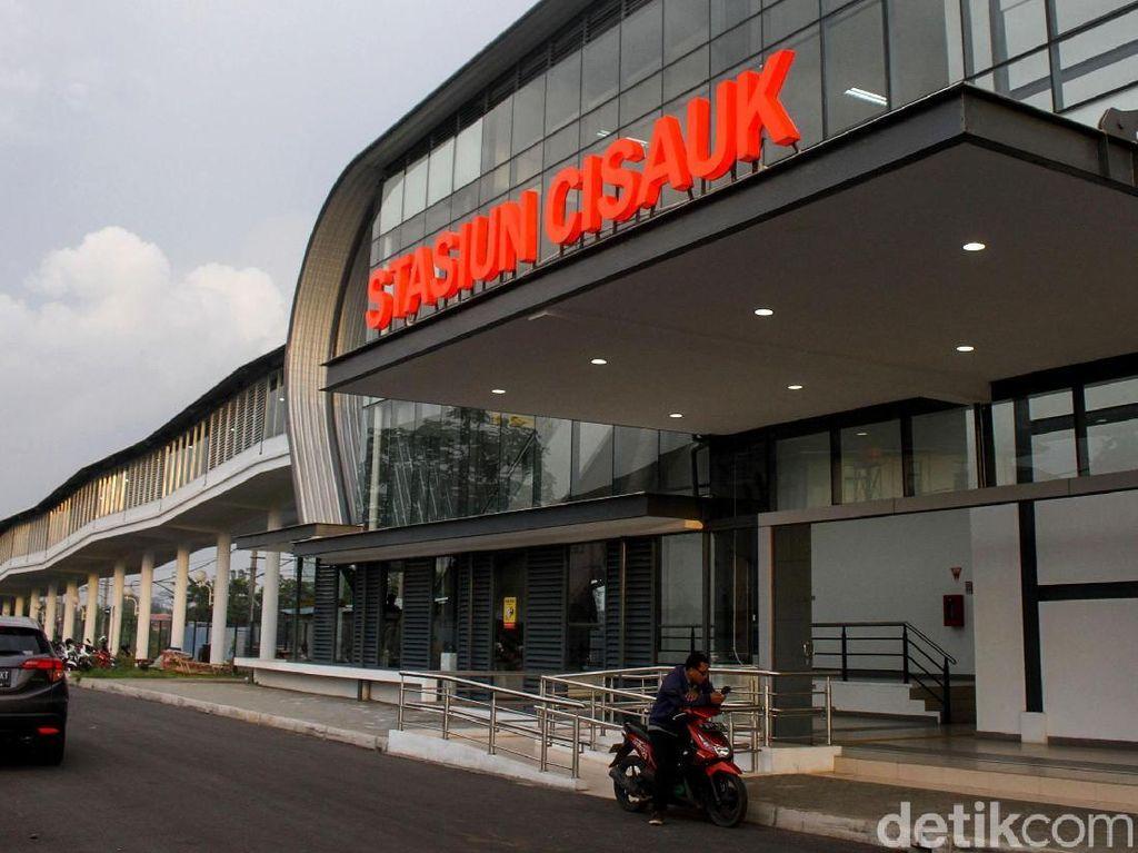 Nyambung Terminal dan Pasar, Ini Tampang Anyar Stasiun Cisauk