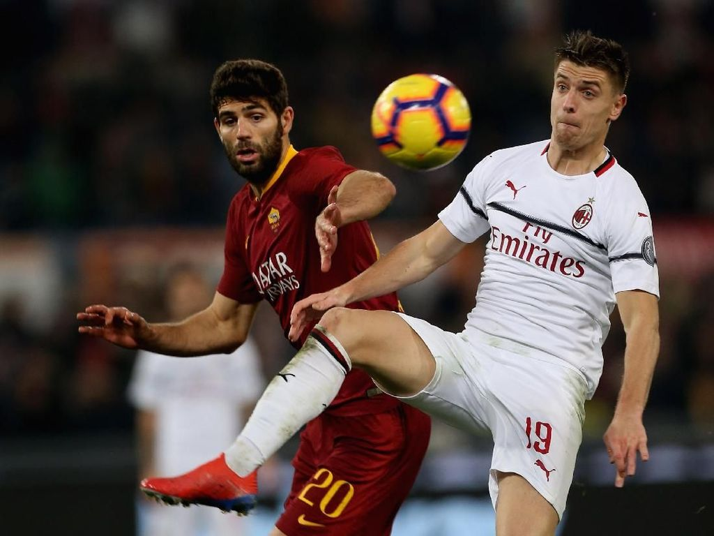 Hasil Liga Italia: AS Roma vs AC Milan Berakhir Imbang
