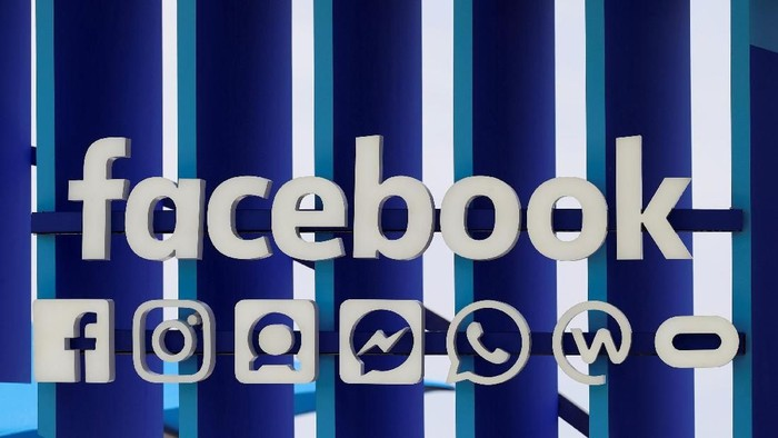Kerajaan Facebook dengan segala platform layanan yang dimilikinya. Foto: Reuters