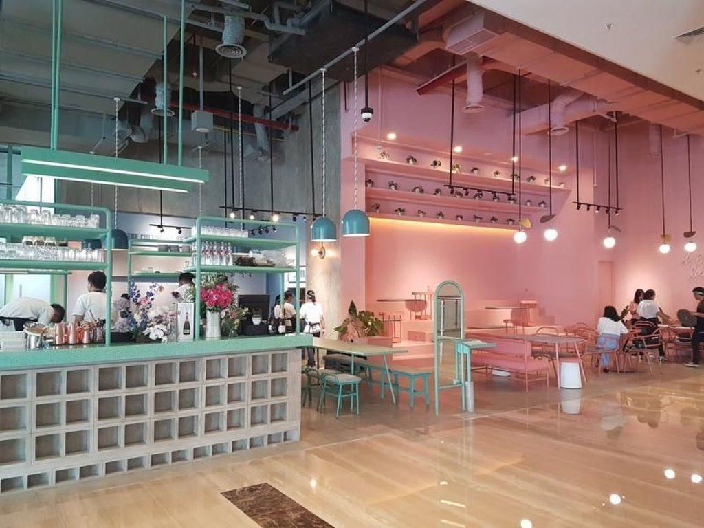 Rekomendasi Kafe Ngehits Bernuansa Pastel di Jakarta