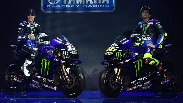 Livery baru M1 Yamaha untuk MotoGP 2019.