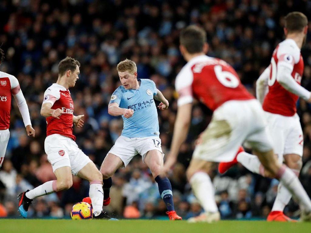 Data-Fakta City Vs Arsenal: De Bruyne Ancaman untuk The Gunners