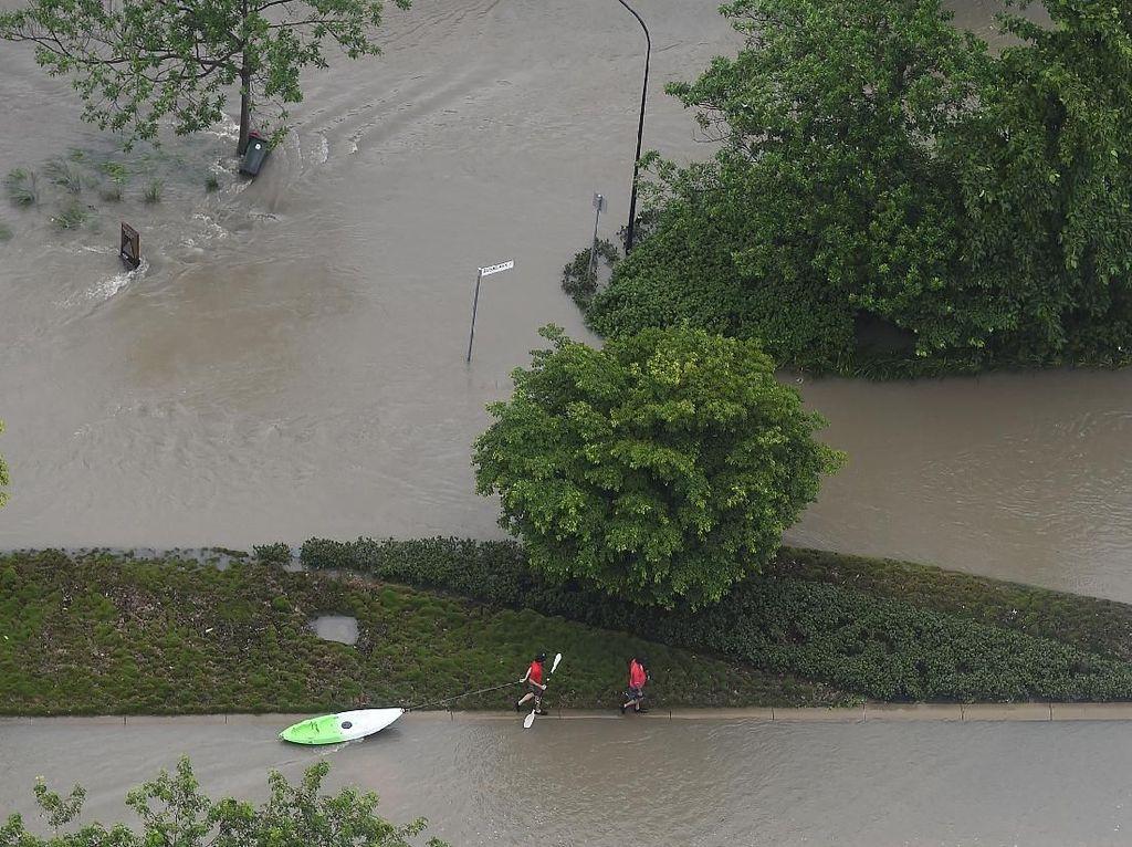 Pesisir Timur Australia Dilanda Banjir Terparah dalam 50 Tahun Terakhir