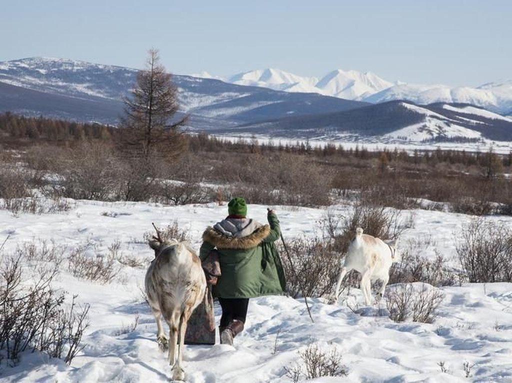 Potret Orang Rusa dari Suku Terkecil Sedunia
