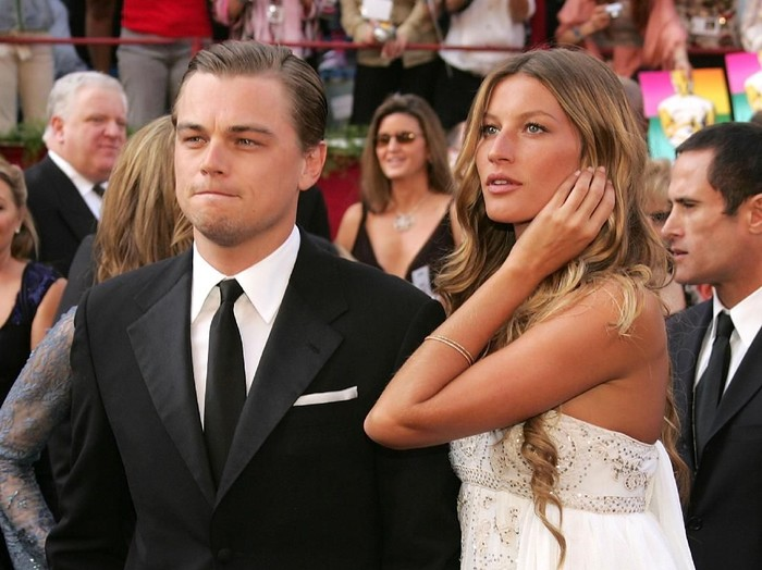 HOLLYWOOD, CA - FEBRUARY 27:   Actor Leonardo DiCaprio, nominated for Best Actor for his role in