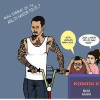 Pedas, Jerinx SID Bikin Komik Sindiran pada Anang Hermansyah - Ashanty
