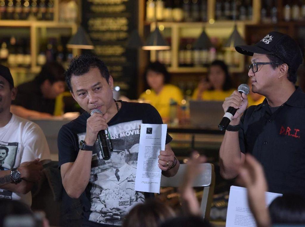 Puluhan Musisi Pertanyakan Urgensi RUU Permusikan ke DPR