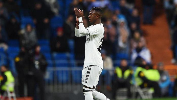 Vinicius Junior sempat didekati Barcelona sebelum memilih Real Madrid (Denis Doyle/Getty Images)