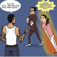 Komik Sindiran Jerinx pada Anang Hermansyah - Ashanty
