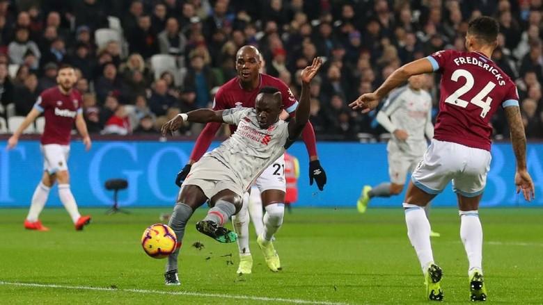 Hasil Liga Inggris: Liverpool Diimbangi West Ham
