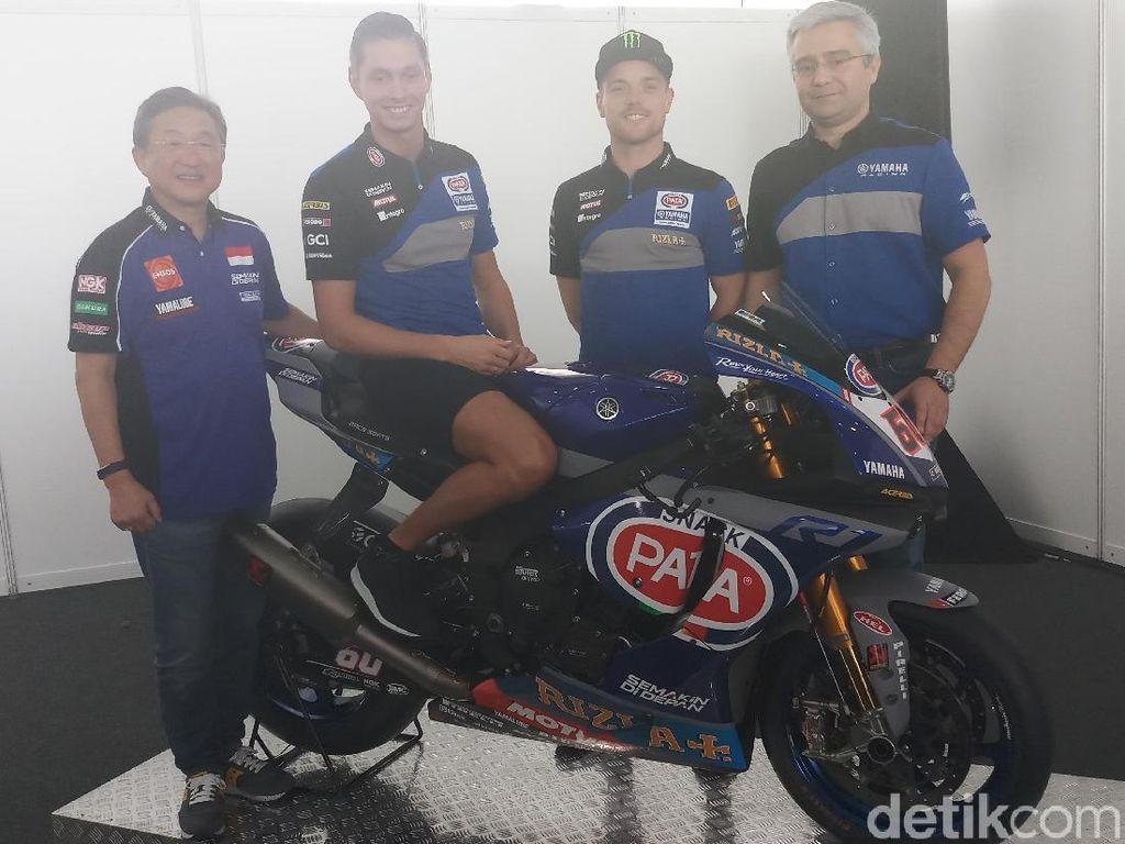 Van der Mark dan Lowes Bertekad Semakin di Depan Bareng Yamaha