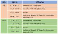 Catat! Ini Syarat dan Jadwal UTBK untuk SBMPTN 2019