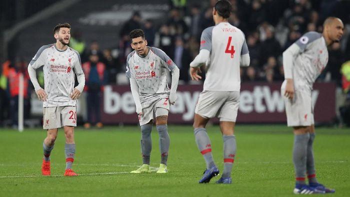 Liverpool menurun performanya sedari tahun baru (David Klein/REUTERS)
