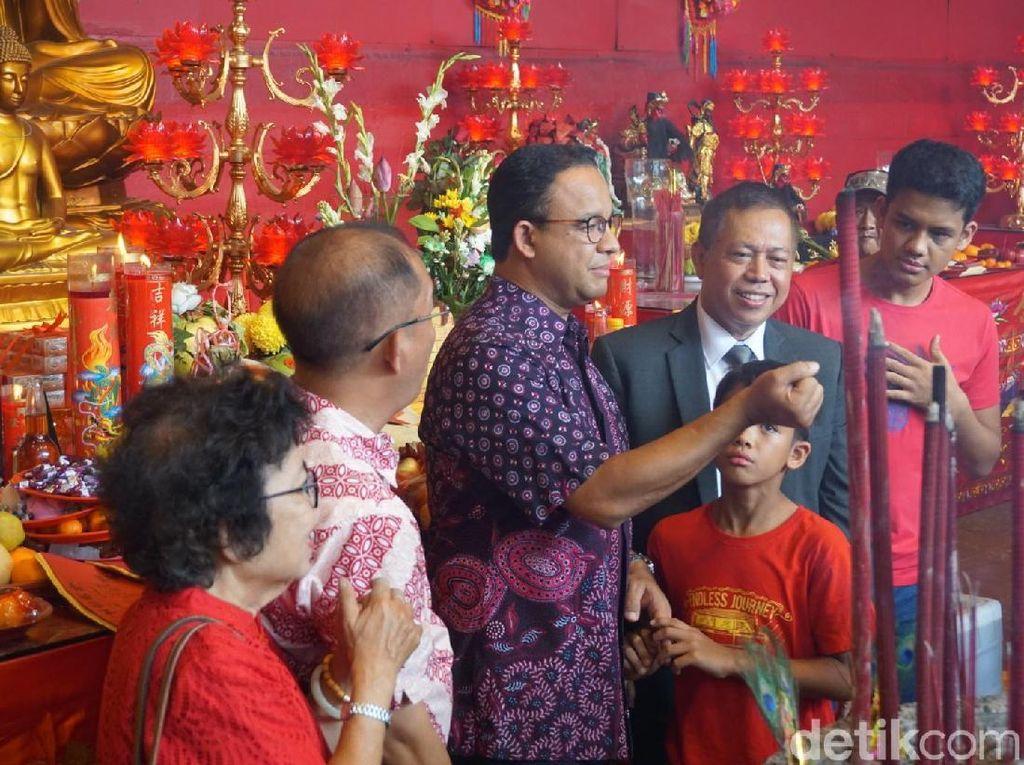 Anies: Gong Xi Fa Cai, Semoga Tahun Ini Bawa Keberkahan dan Kesuksesan