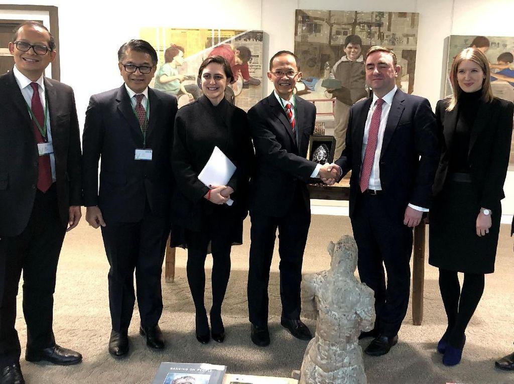 Pertemuan PINA dengan Standard Chartered Bank