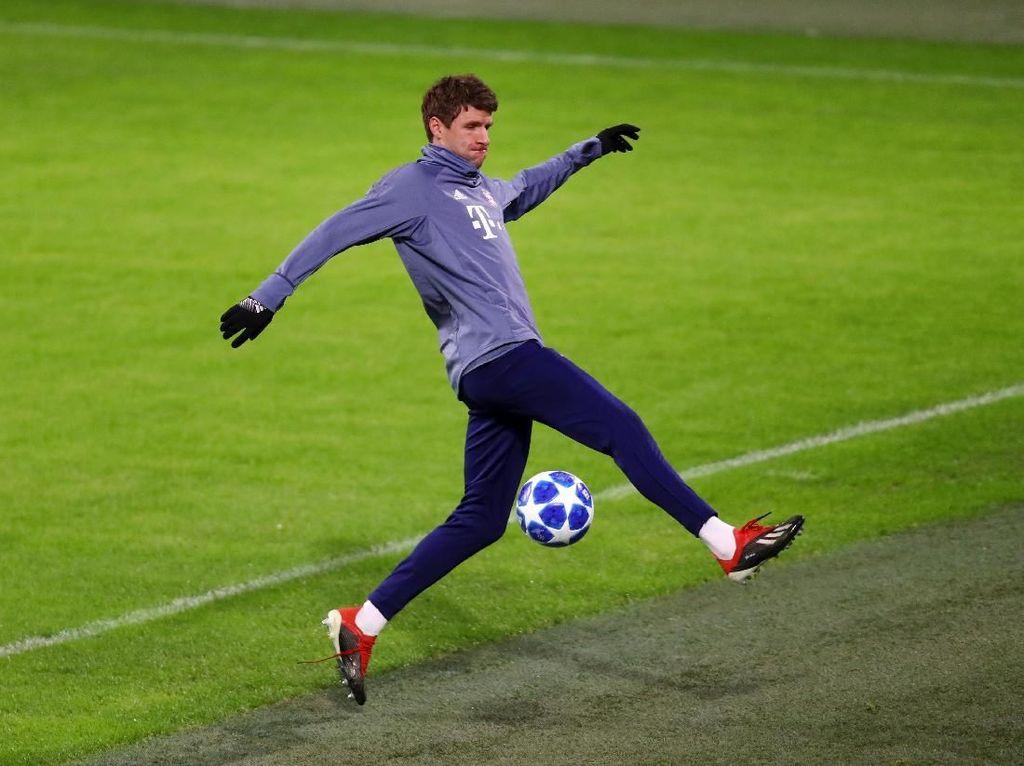 Banding Bayern Ditolak UEFA, Mueller Tetap Absen Lawan Liverpool