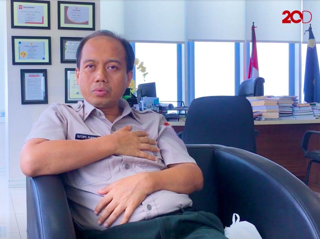 Harapan Penyintas Kanker Sutopo BNPB di Hari Idul Fitri