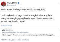 Saling adu argumen antara Anji dan Jerinx di Twitter