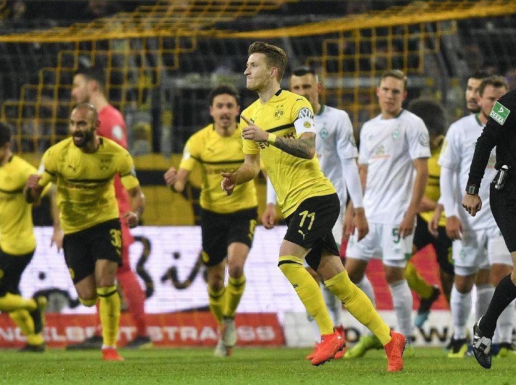 Dikalahkan Bermen, Dortmund Tersingkir dari DFB Pokal
