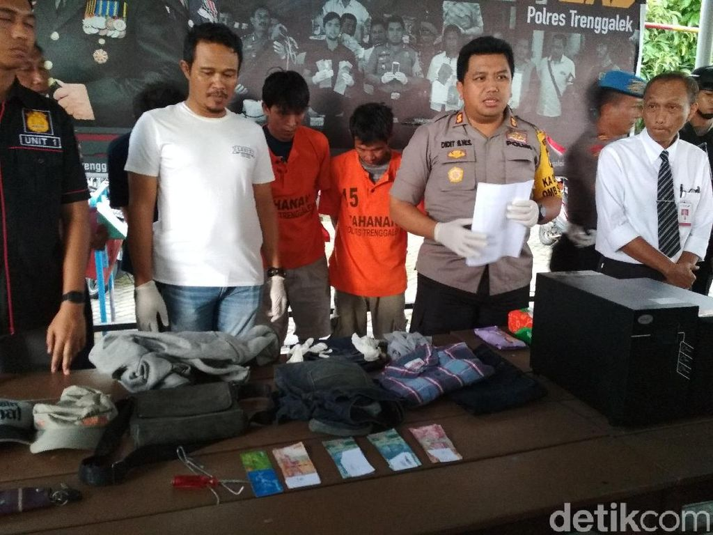 Komplotan Pembobol ATM Digulung, Beraksi di Lebih 10 Kota di Jatim