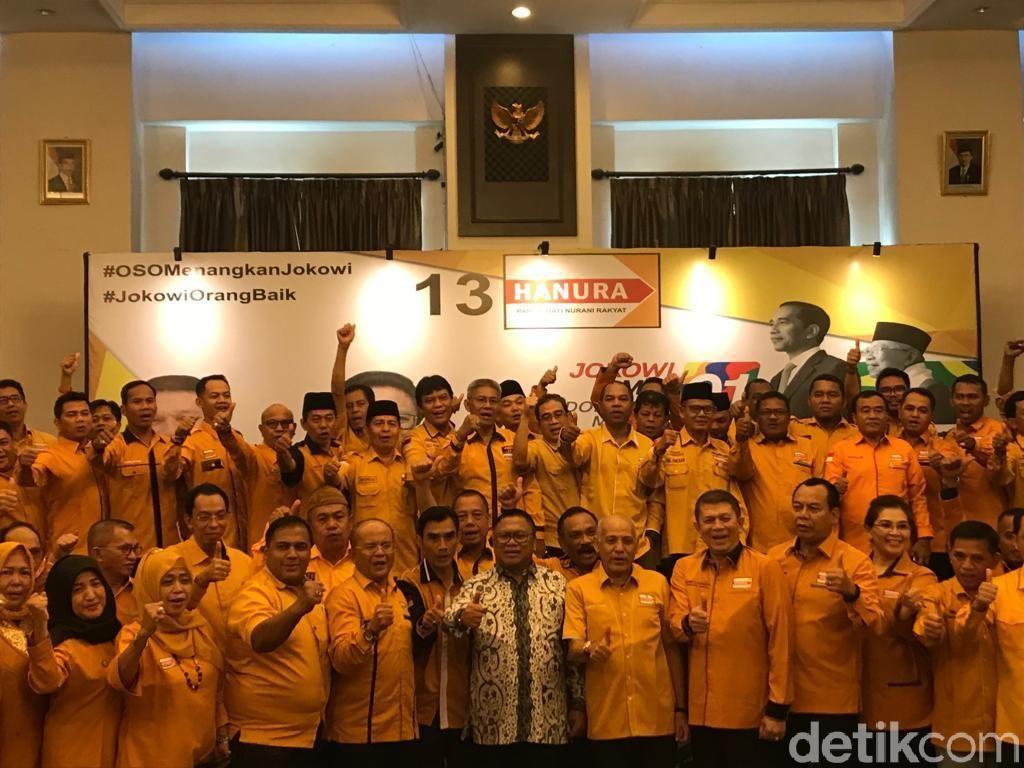 Buka Rapat Pemenangan Partai, OSO Target Hanura 3 Besar di Pemilu 2019