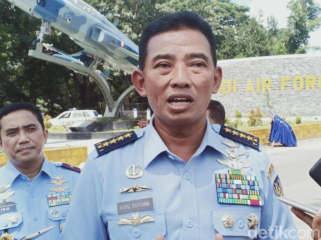 HUT Ke-74 TNI AU, KSAU Apresiasi Kontribusi Prajurit Saat Bencana Alam-Corona