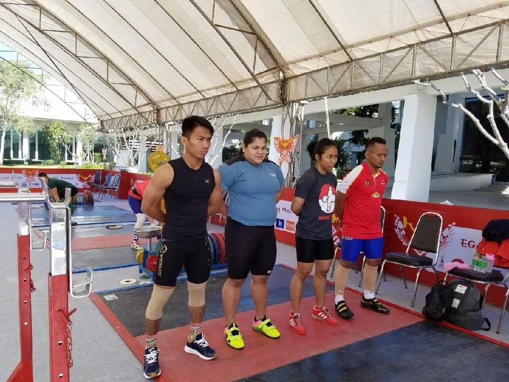 Jelang Tanding, Triyatno dkk Adaptasi Arena di Thailand