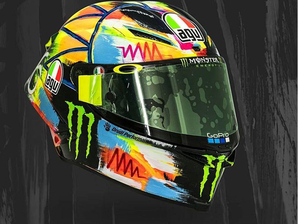 Warna Cerah Helm Baru Valentino Rossi