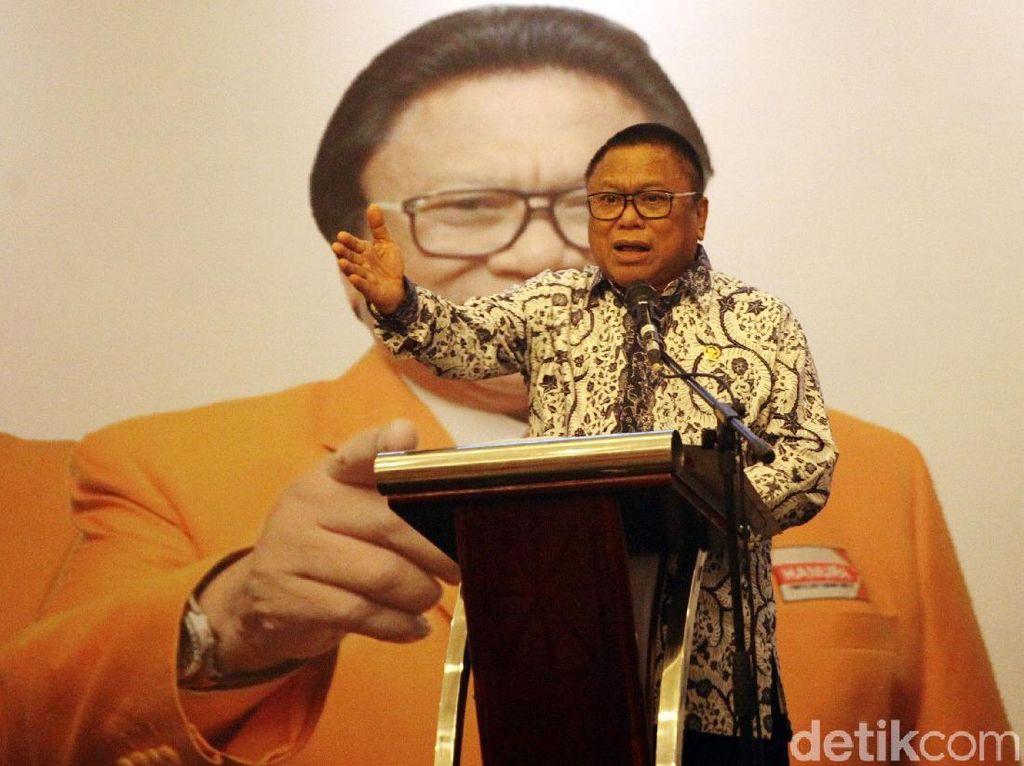 Hanura Tak Masalah Jatah Menteri untuk Parpol Cuma 45%