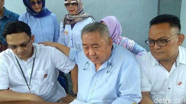 Farhat Abbas dan Lieus Sungkharisma di Rutan Cipinang