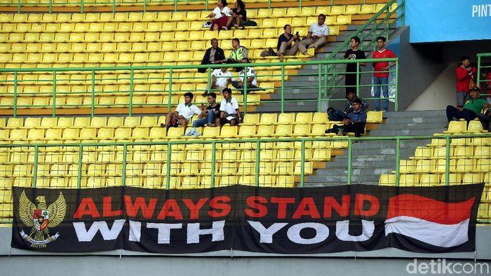 Stadion Patriot akan jadi kandang untuk Persija Jakarta dan Bhayangkara FC di babak 8 besar PIala Presiden (Rengga Sancaya)