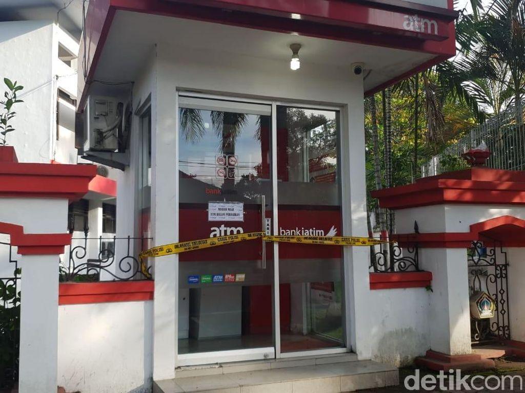Ternyata Ada Dua ATM Bank Jatim di Blitar yang dibobol