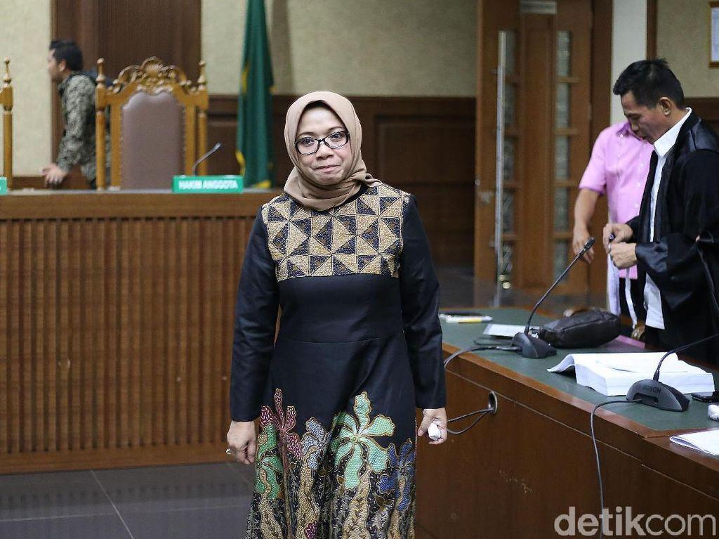 Eni Saragih Berharap Vonis Hakim Ringan dari Tuntutan Jaksa KPK
