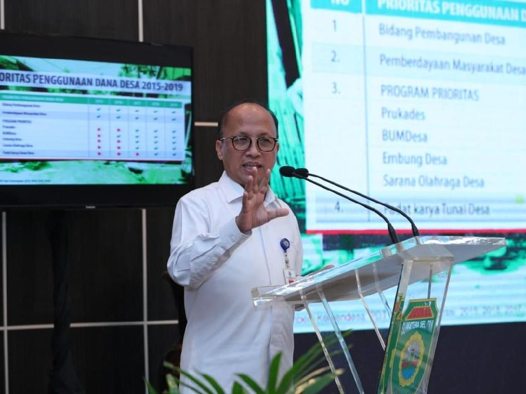 Selama 4 Tahun, 8.983 Pasar Tercipta dari Dana Desa