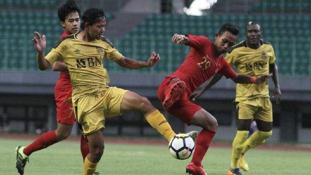 Bhayangkara FC tampil dengan kekuatan terbaik melawan Timnas Indonesia U-22.