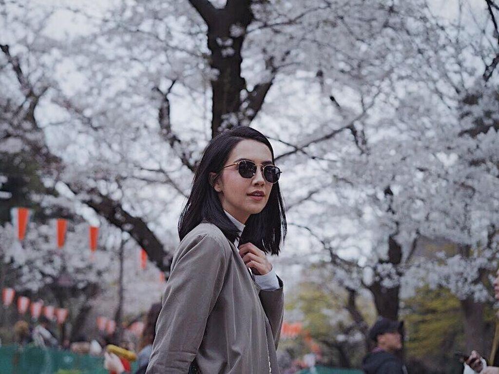 Foto: Liburan ala Artis Thailand Cantik, Sara Legge