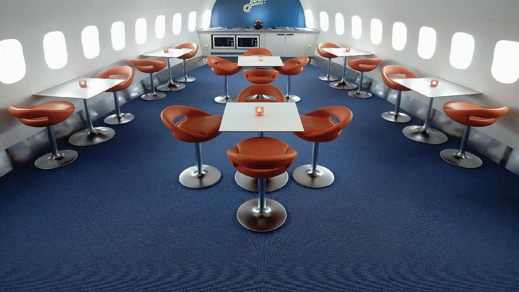Foto: Boeing 747 Jadi Hotel di Swedia