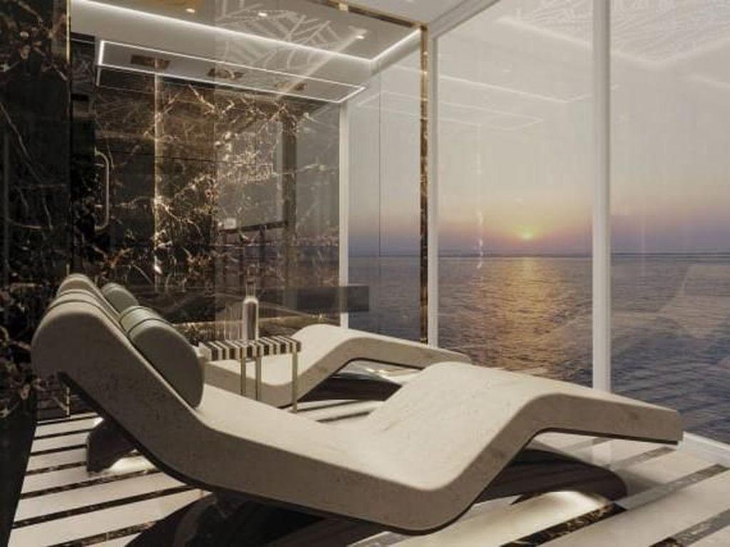 Ini Kamar Termewah di Laut, Biaya Pembangunannya Rp 2,8 M