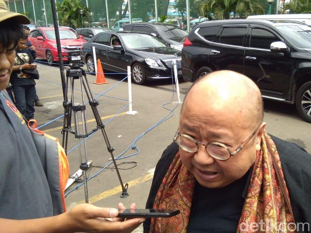 Lieus Sungkharisma dan Jaya Suprana Ikut Jenguk Ahmad Dhani di Cipinang