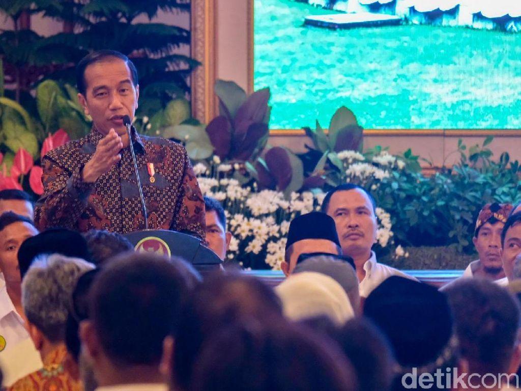Undang Petani Tebu ke Istana, Jokowi Janji Naikkan Harga Pembelian Gula