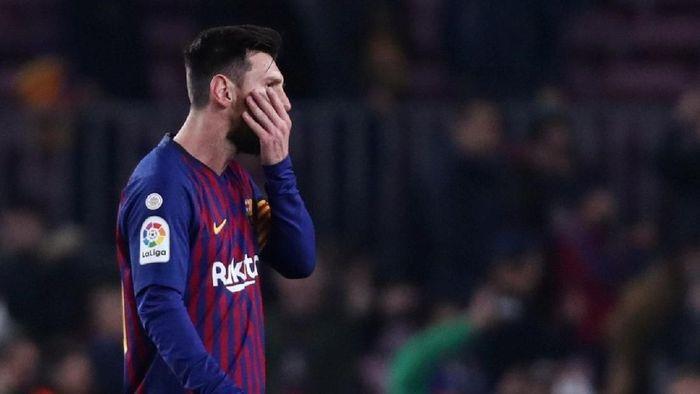 Penyerang Barcelona Lionel Messi akan menjadi tumpuan saat menghadapi Lyon di babak 16 besar Liga Champions. (Foto: Sergio Perez/Reuters)
