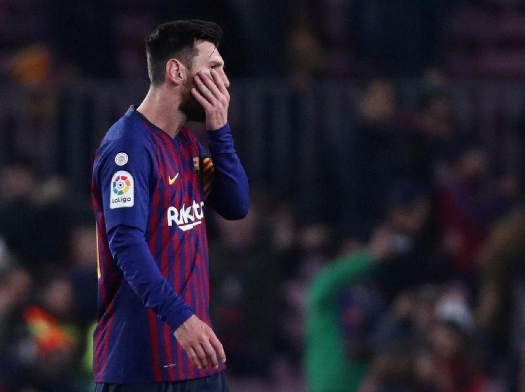 Terhentinya Rentetan Gol Messi